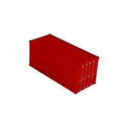 container red icon size 20ft 250x250 1